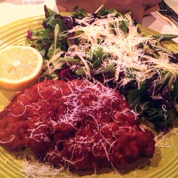 Veal Milanese - Trattoria San Pietro, Norwell, MA