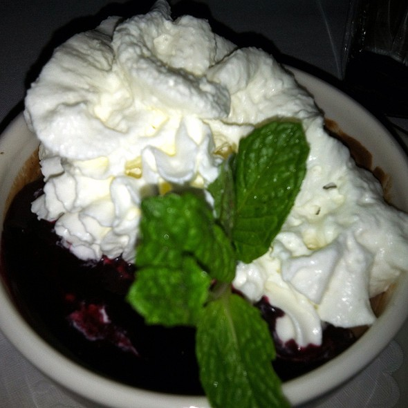 Blueberries With Whipped Cream - El Parador, New York, NY