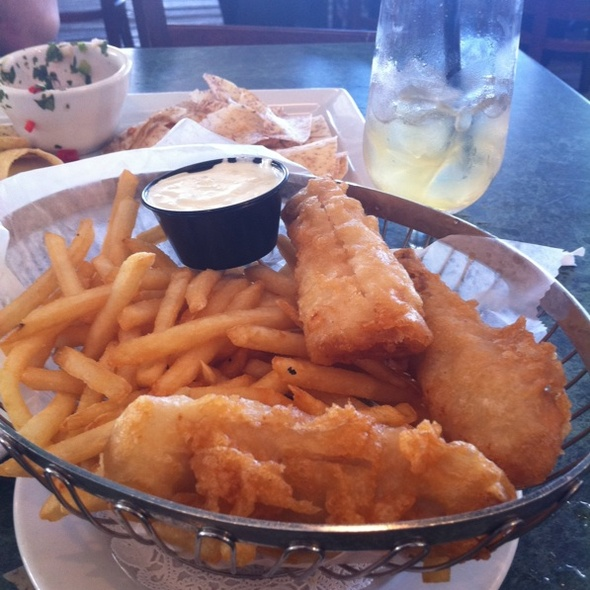 Halibut Fish and Chips - E.R. Bradley's Saloon, West Palm Beach, FL
