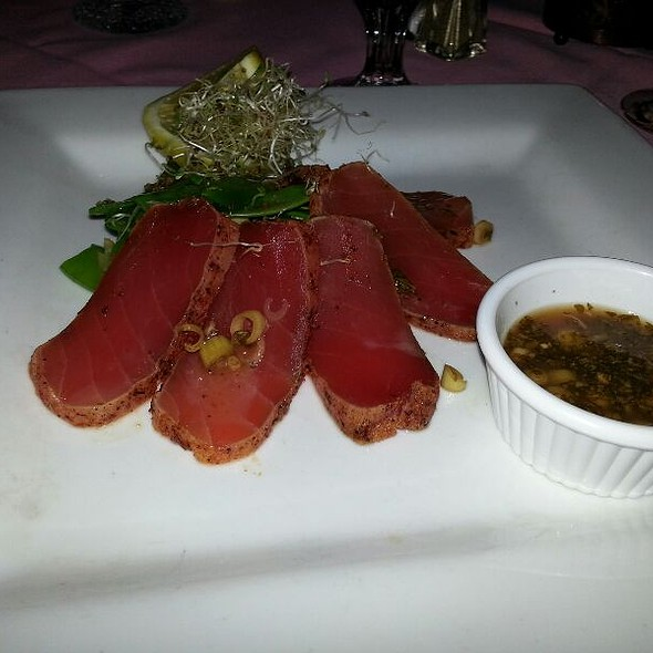 Seared Tuna - Pepi's Restaurant & Bar, Vail, CO