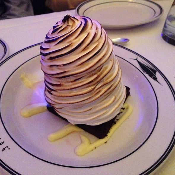 Baked Alaska. - Oceanaire Seafood Room - Boston, Boston, MA