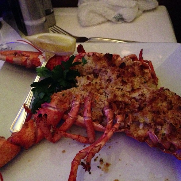 Stuffed Lobster - Oceanaire Seafood Room - Boston, Boston, MA