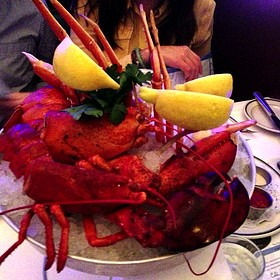 Seafood Tower - Oceanaire Seafood Room - Boston, Boston, MA