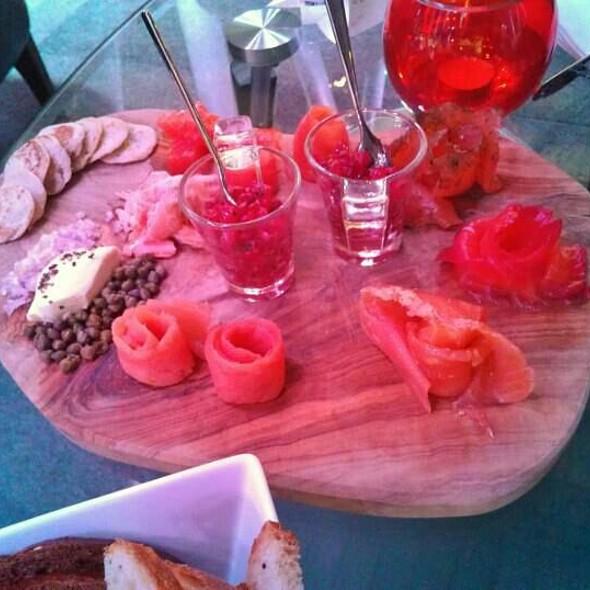 Salmon Platter - Formans Restaurant, London