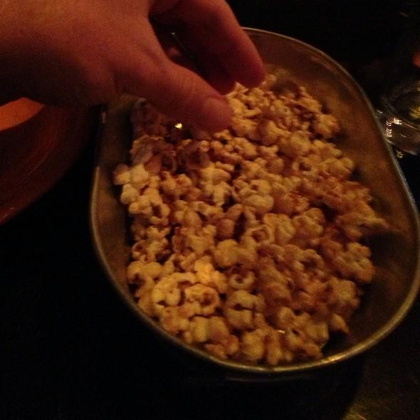 Bacon Caramel Popcorn - Datz, Tampa, FL