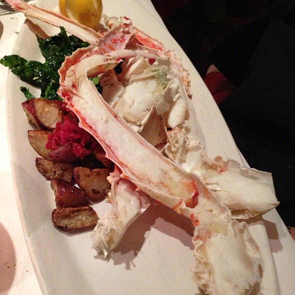 Alaskian King Crab Legs - Parkers' Restaurant & Bar, Downers Grove, IL
