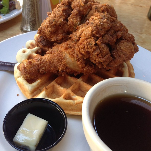 Chicken and Waffles - Solid Grill & Bar, Boise, ID