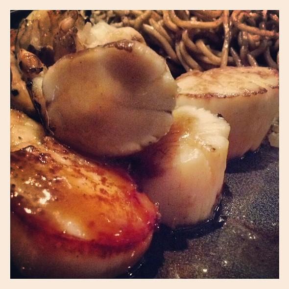 Hibachi Sea Scallops - Ooka Japanese Sushi & Hibachi Steakhouse, Montgomeryville, PA