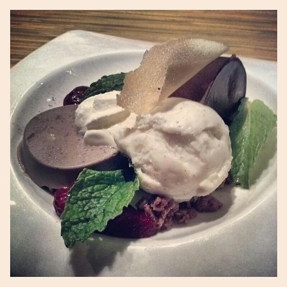 Chocolate Parfait Dessert  - Ooka Japanese Sushi & Hibachi Steakhouse, Montgomeryville, PA