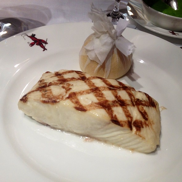 Grilled Halibut - Wiltons, London