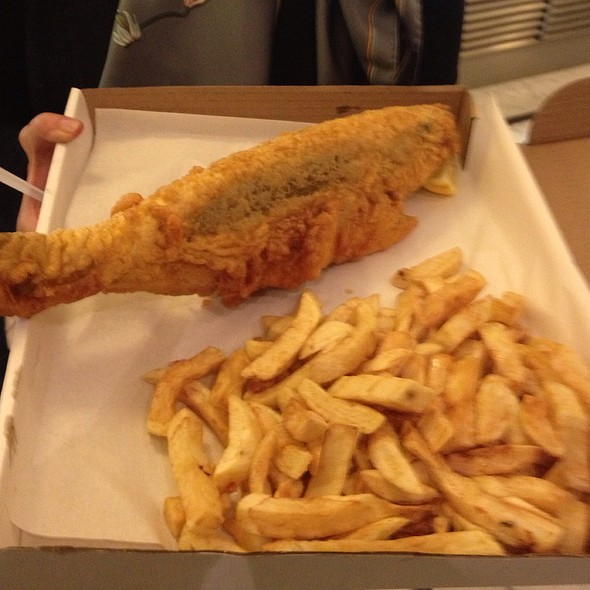 Fish and Chips - The Seashell of Lisson Grove, London
