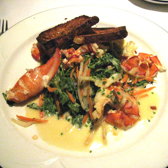 Warm Lobster Salad - The Oregon Grille, Hunt Valley, MD