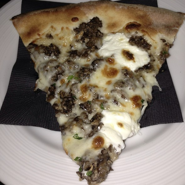Wild Mushrooms Pizza With Truffle Oil - Sotto 13, New York, NY