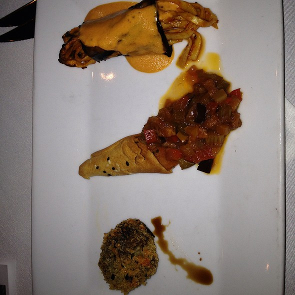Eggplant Three Ways - Trattoria Divina, Hilton Head Island, SC