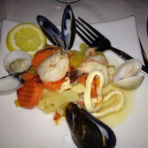Grilled Seafood Salad - Trattoria Divina, Hilton Head Island, SC