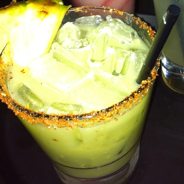 Pineapple avocado margarita - Meso Maya - Downtown Dallas, Dallas, TX