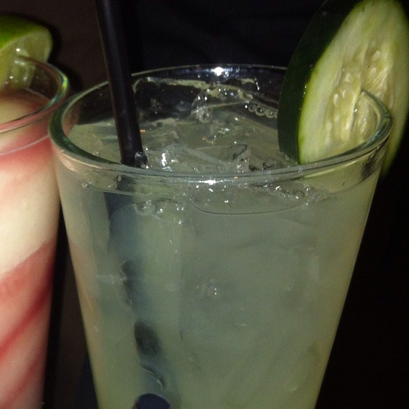 Cucumber Margarita - Meso Maya - Downtown Dallas, Dallas, TX