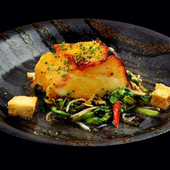 Miso-glazed Chilean Seabass - Tao Restaurant and Nightclub, Las Vegas, NV