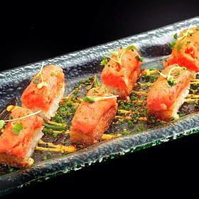 Spicy Tuna on Crispy Rice - Tao Restaurant and Nightclub, Las Vegas, NV