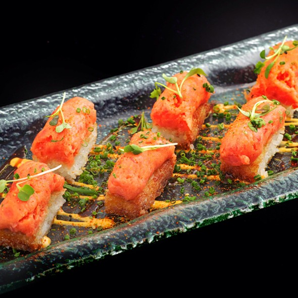 Spicy Tuna on Crispy Rice - Tao Restaurant and Nightclub, Las Vegas, NV