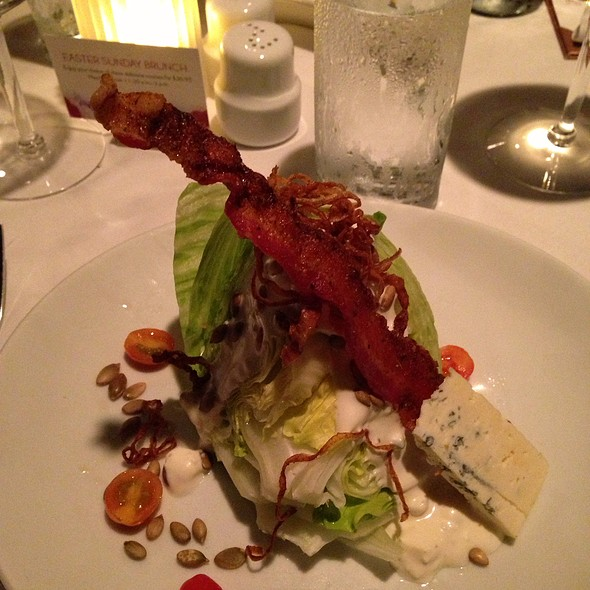 New Wedge Salad - Fleming's Steakhouse - Beverly Hills, Beverly Hills, CA