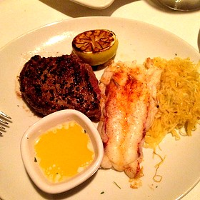 Lobster Tail & Filet Mignon - Fleming's Steakhouse - Beverly Hills, Beverly Hills, CA