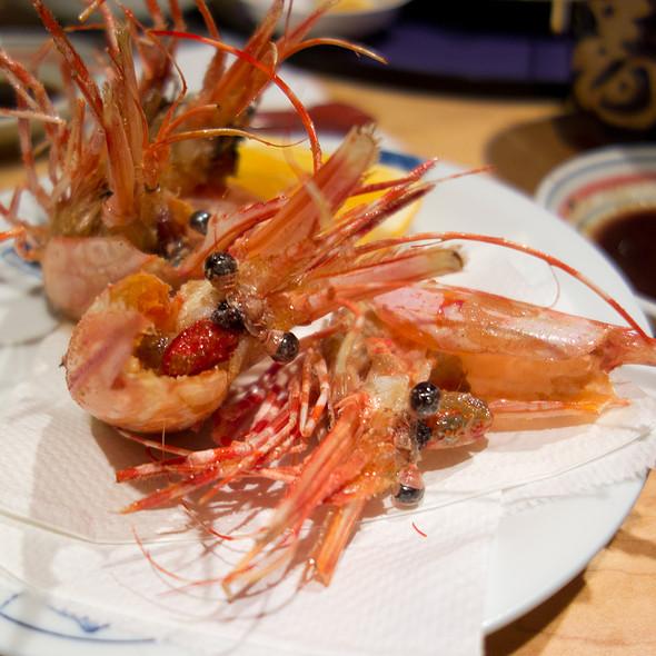 fried shrimp heads - Hatcho, Santa Clara, CA