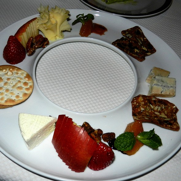 Cheese Plate - Alizé at the Top of the Palms Casino Resort, Las Vegas, NV