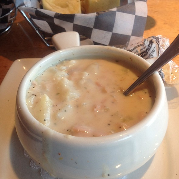 New England Clam Chowder - RockBass Grill, Wormleysburg, PA