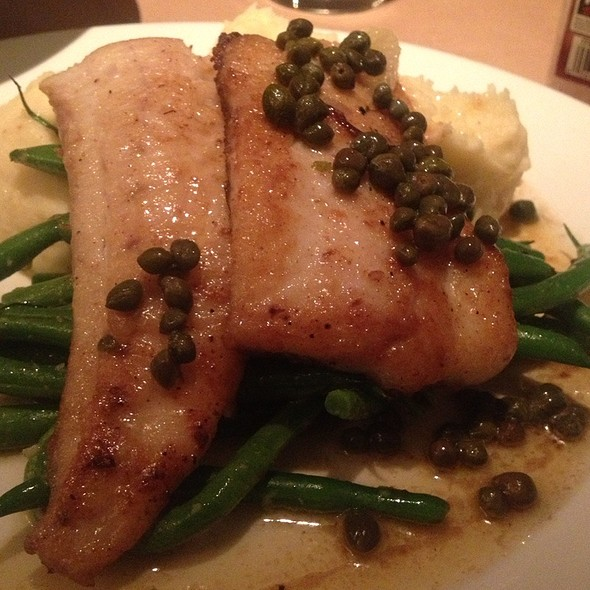 Sole With Lemon Butter Sauce - Coast Seafood and Raw Bar, Atlanta, GA