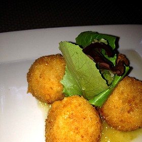 Pimento Cheese Fritters - Poogan's Porch Restaurant, Charleston, SC