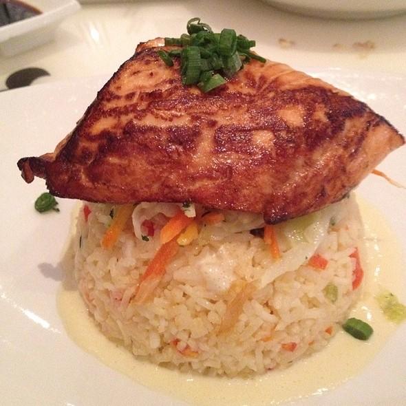 Salmon Coconut Basmati Bowl - BOE Restaurant & Bar, Washington, DC