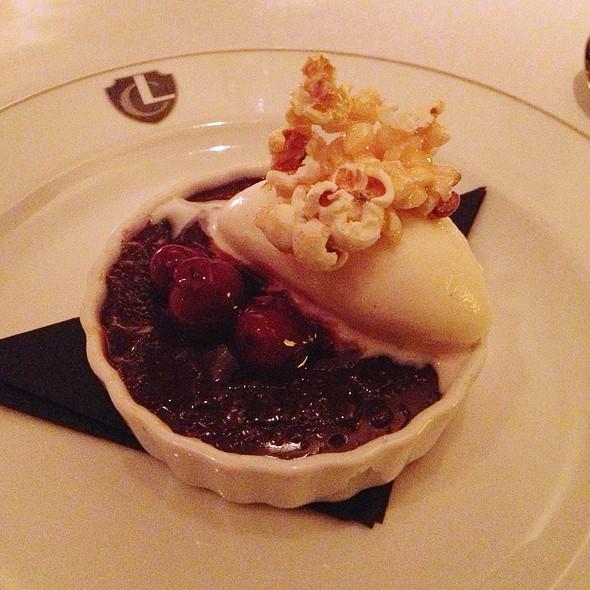 Dark Chocolate Creme Brulee - The Lambs Club, New York, NY