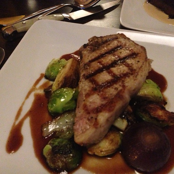 pork chop #stpaul - Heartland Restaurant, Saint Paul, MN