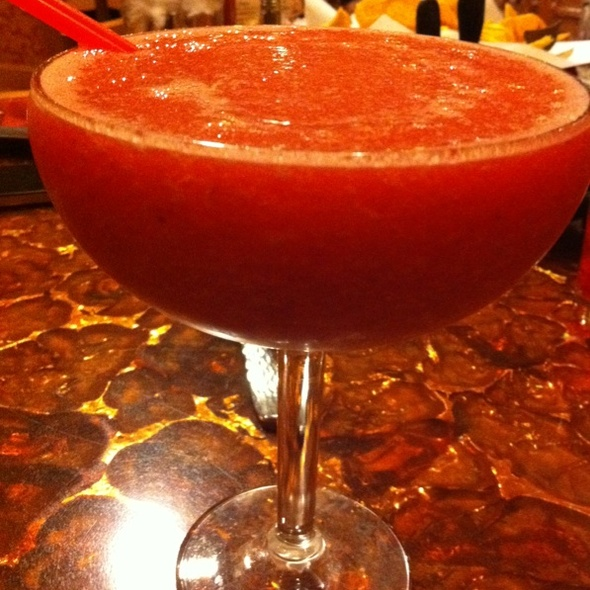 Strawberry Marguerita - Baja Miguel's - South Point Casino, Las Vegas, NV