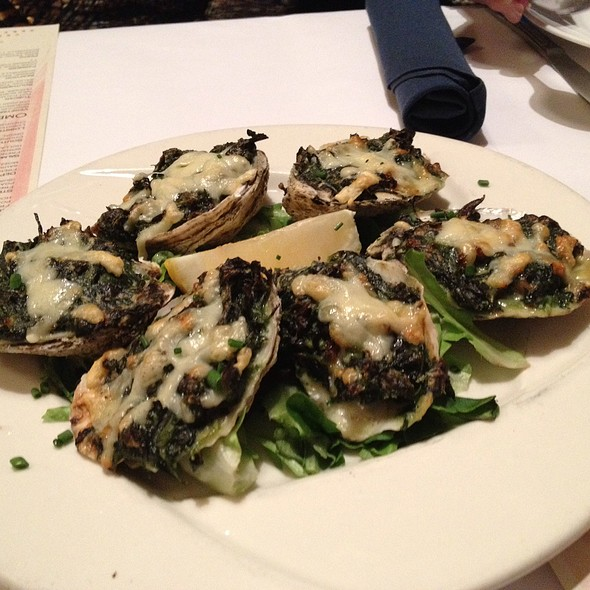 Oysters Rockefeller - Providence Oyster Bar, Providence, RI
