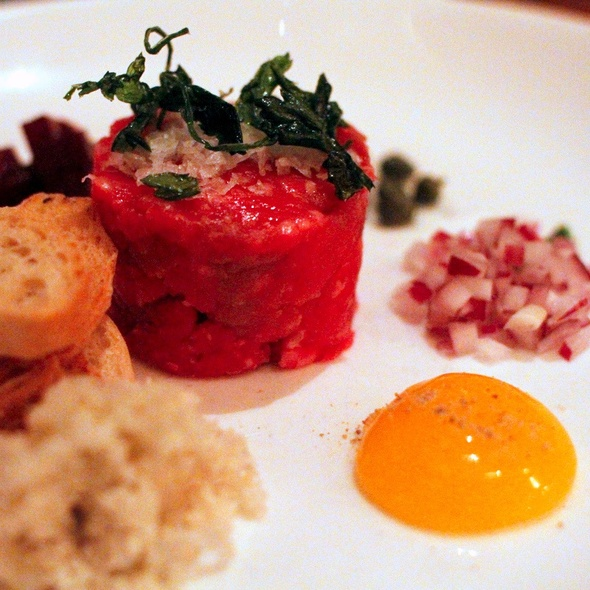 steak tartare - Aquavit, New York, NY