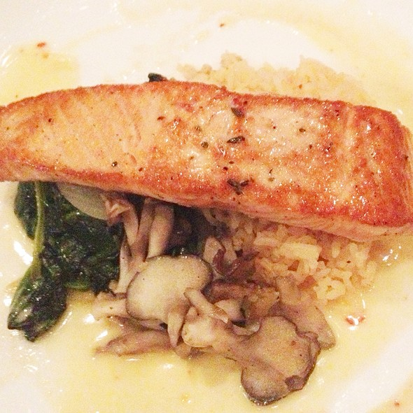 Flat Iron Seared Salmon - Palisade, Seattle, WA