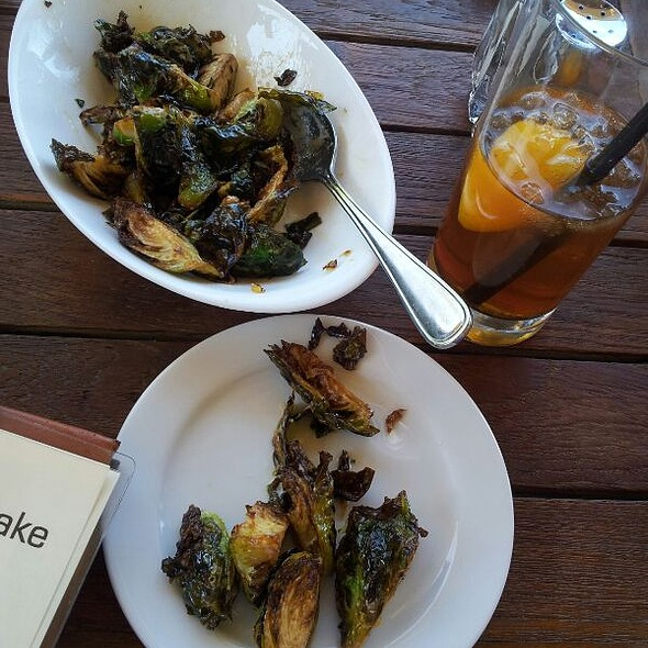 Warm Brusselsprouts - eleven plates & wine, Austin, TX
