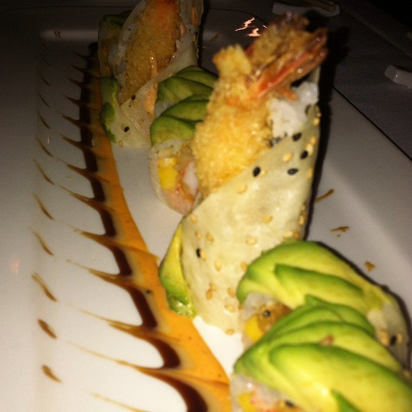 Brooklyn Bridge Roll - Imperial Koi Asian Bistro Sushi Bar, Greensboro, NC