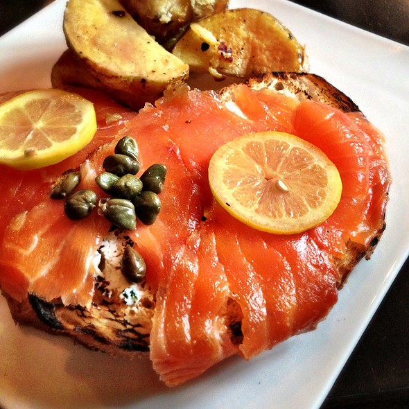 Smoked Salmon Plate - Station, Brooklyn, NY