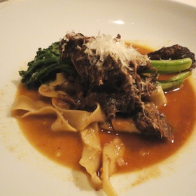 Pappardelle Pasta with Braised Beef Short Ribs - Root 246 at Hotel Corque, Solvang, CA