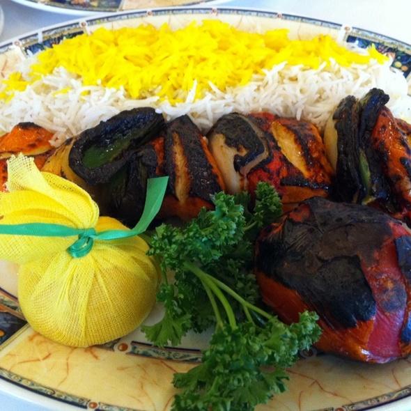 Chicken Shish Kabab - Darya Restaurant, Santa Ana, CA