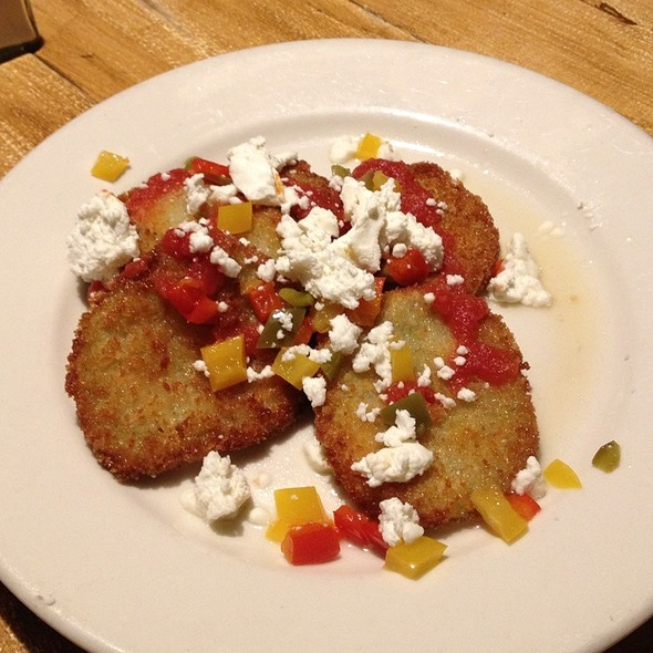 Fried Green Tomato - Fat Hen, Johns Island, SC