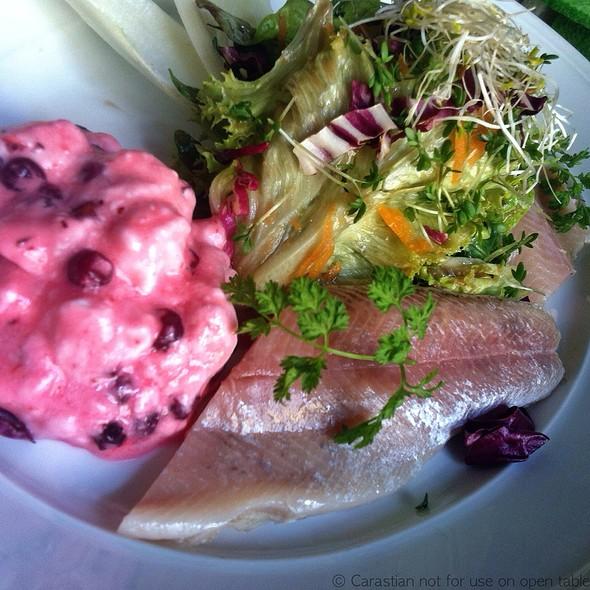 Smoked Trout With Horseradish Preiselbeer Cream - Wirtshaus zum Straubinger, München, BY