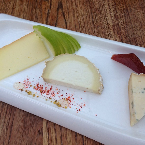 Cheese Plate.  - Rocco's Electric Red Room and Ice Cream Emporium, Palm Springs, CA