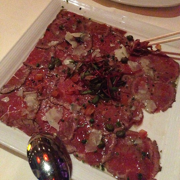 Beef Carpaccio - West Steak and Seafood, Carlsbad, CA
