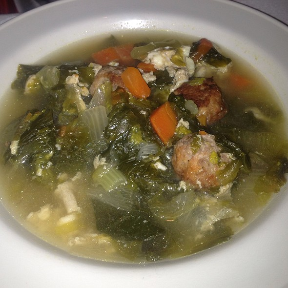 Escarole Soup - Saloon Restaurant, Philadelphia, PA