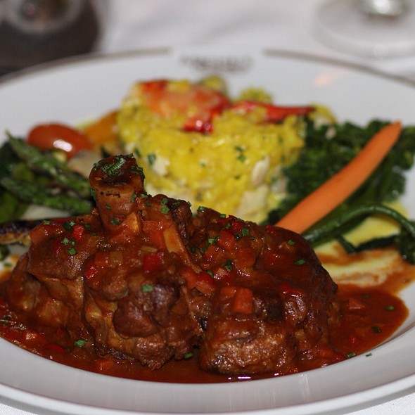 Veal Osso Bucco Slowly Cooked With Marrow - Michel's at the Colony Surf, Honolulu, HI