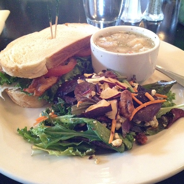 1/2 Turkey Sandwich, Chicken Dumpling Soup & Salad - The Grant House, Vancouver, WA